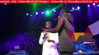 Sarkodie & Ofori Amponsah perform 'Alewa' 1st time @ Rapperholic concert 2015 | GhanaMusic.com Video