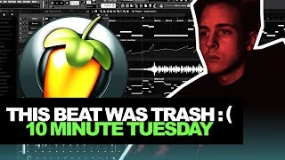 "MAKING A ""FIRE"" BEAT IN A COUPLE MINUTES 