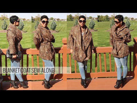 DIY Blanket Coat Sew-Along