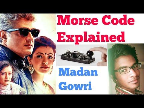 Morse code explained | Tamil | Vivegam | Madan Gowri | Ajith Kumar | what is Morse code