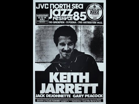 Keith Jarrett Trio Live at the North Sea Jazz Festival - 1985 (full concert - audio only)