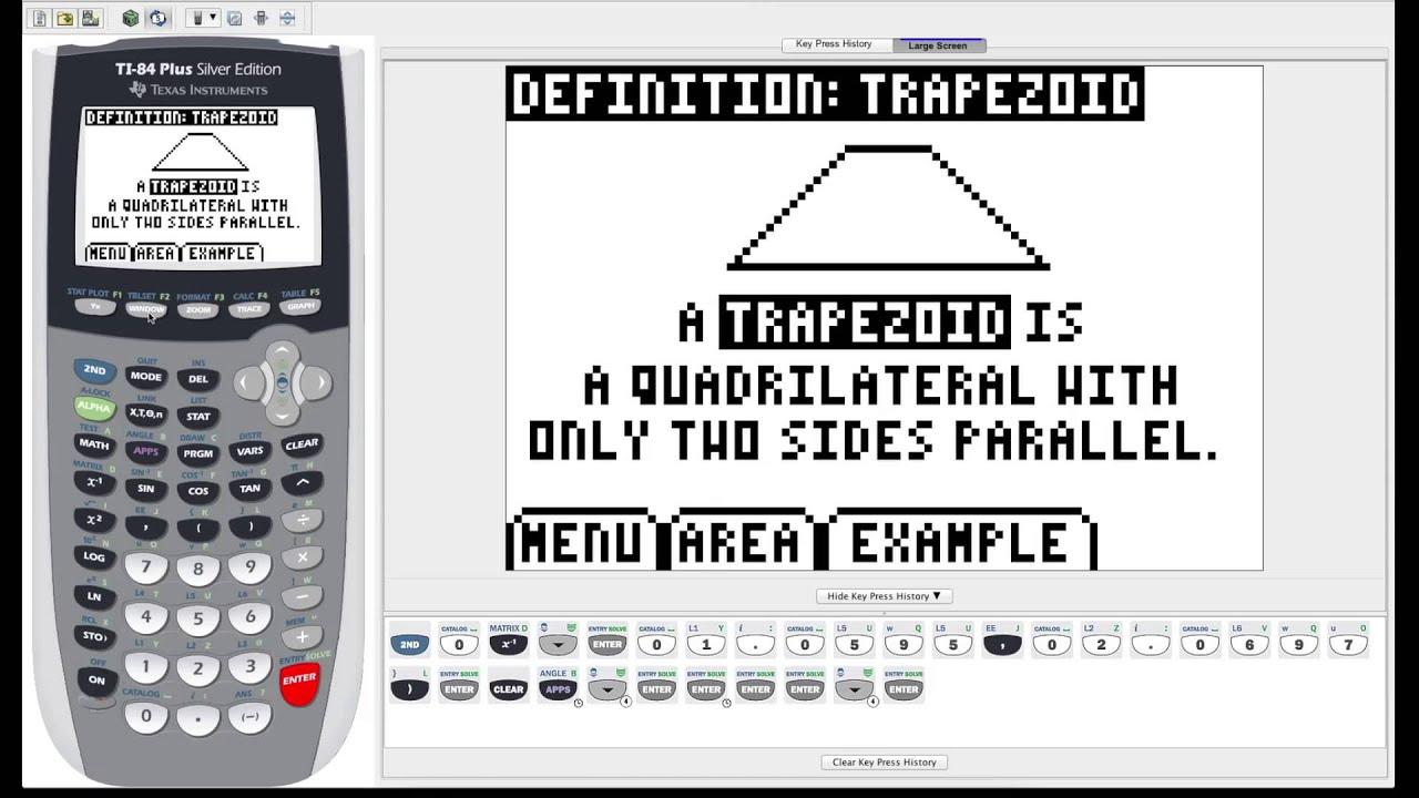 Ti 84 plus graphing calculator guide fun and useful features youtube ti 84 plus graphing calculator guide fun and useful features urtaz Choice Image
