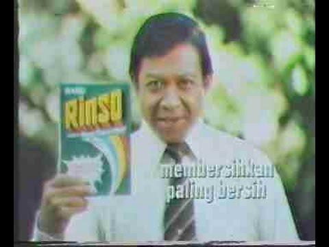 Iklan Jadul Rinso Tahun 1980 Youtube
