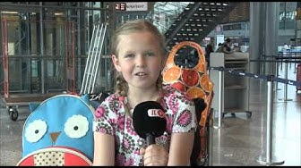 Little girl sings amazingly - Pikkutytöllä uskomaton lauluääni