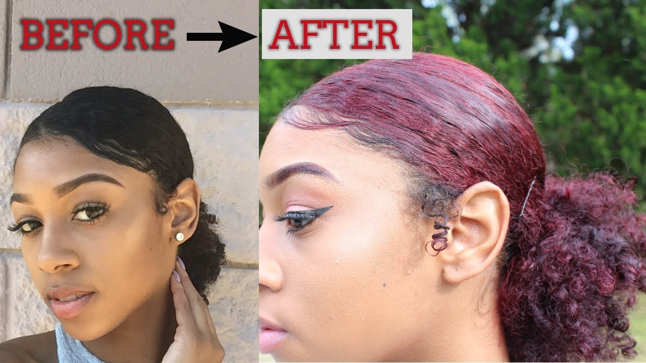 How to Dye Natural Black Hair without Bleach