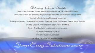Ocean Sounds Mp3 Download - App - Sound Of The Relaxing Ocean