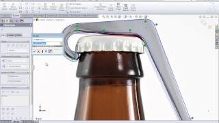 SolidWorks Training Create a Model Using a Sketch Picture by SolidWize