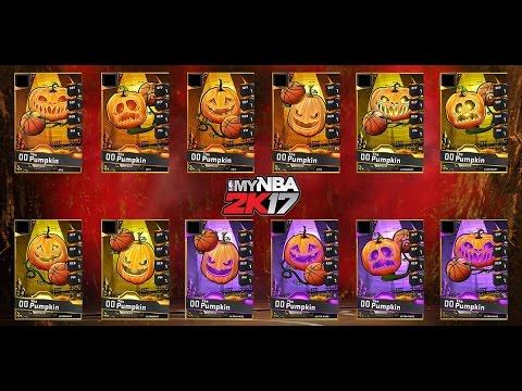 MYNBA2K17 - Free Packs +  Halloween Special!