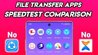 Top 10 Fastest File Sharing Apps for Android • Speedtest • After Chinese Apps Banned 🔥 screenshot 4