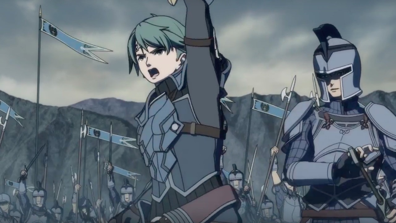 Fire Emblem Echoes Shadows Of Valentia Official Two Armies