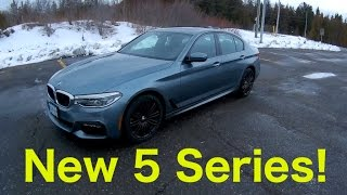 2017 BMW 540i xDrive Review