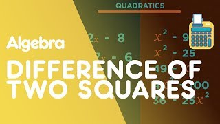 Difference Of Two Squares - Factorising Quadratics | Algebra | Maths | FuseSchool