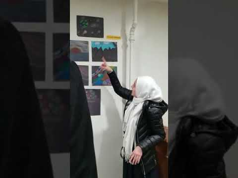 Art Gallery Exhibit -  2018 at Andalusia Islamic School