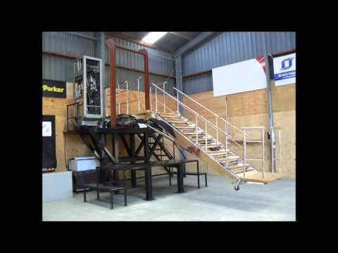 ITL Marine - SWIFT 141 Accommodation Boarding Ladder