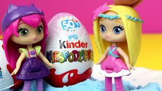 Małe czarodziejki • Zaczarowane Kinder Niespodzianki • bajka po polsku
