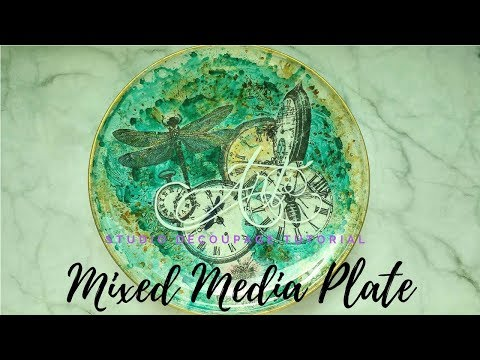 Stamperia Mixed Media Plate
