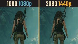 GTX 1060 1080p vs. RTX 2060 1440p (Performance Comparison)