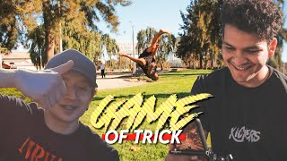 GAME OF TRICK online | TRICKING GAME ft ACROERIC