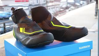 Shimano RW5 Winter Road Shoe Review