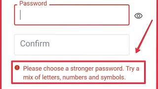 Google & Play Store Account   Fix Choose a Stronger Password...