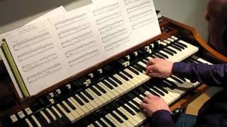 J.S. Bach Cantata BWV 147 Jesu bleibet meine Freude  J.S. Bach on Hammond Organ