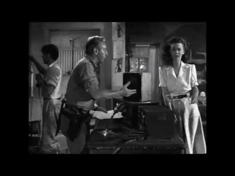 Carole Landis Lloyd Nolan Bombed ~ Manila Calling Scene