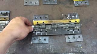 Самодельная гусеница под колесо ВАЗ, с боковыми упорами #2 (Изготовление упоров, замков гусянки)