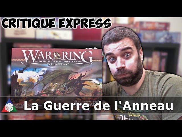 La Guerre de l'Anneau - Critique Express