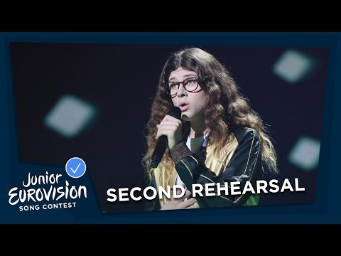 Taylor Hynes - IOU - Second Rehearsal - Ireland 🇮🇪 - Junior Eurovision 2018