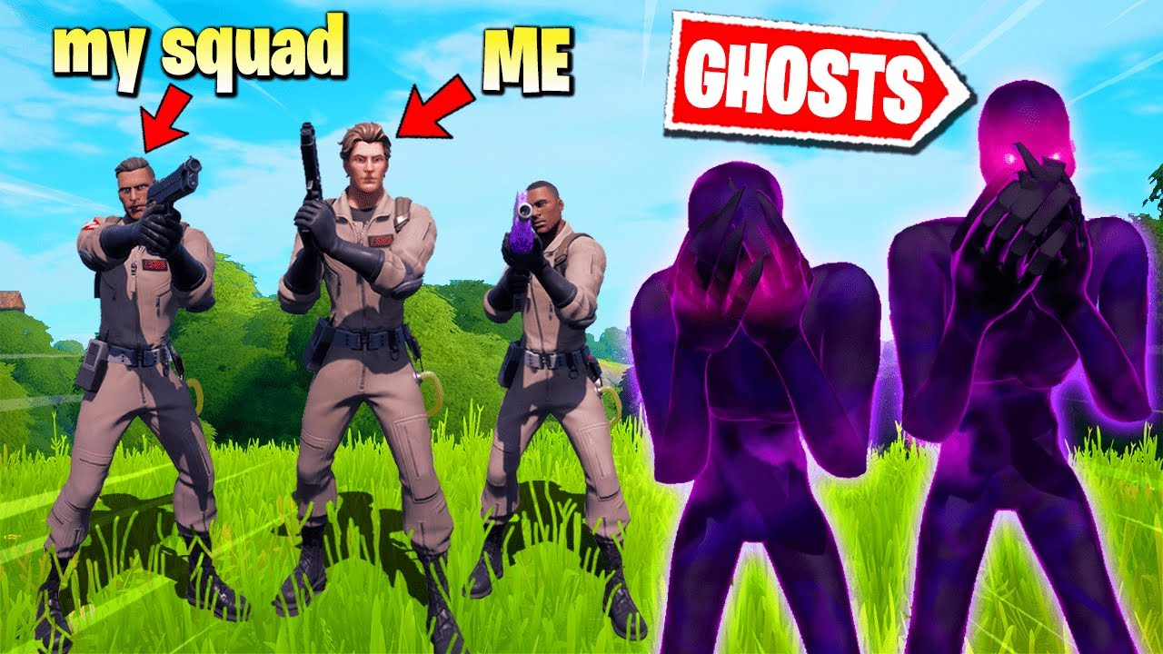 Fortnite Squads Except We Are GHOSTBUSTERS