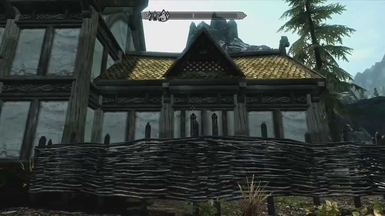 How To Make A House In Skyrim House Plan 2017