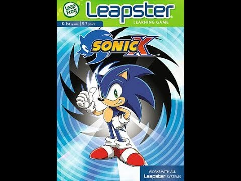 Sonic X Leapster Playthrough