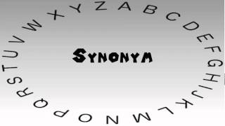 How to Say or Pronounce Synonym