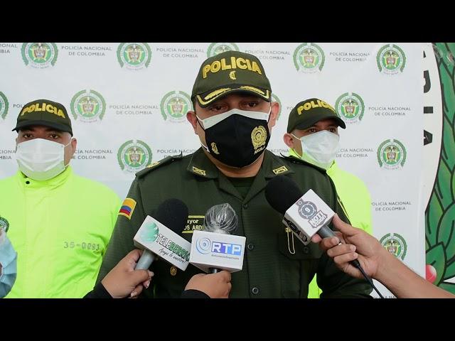 CAPTURADOS TRES HOMBRES ARMADOS EN INMUEBLE DEL MUNICIPIO DE PUERTO BERRÍO.
