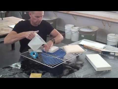 Making a plaster flop/Drape mould
