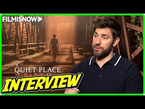 John Krasinski Interview for A QUIET PLACE PART II