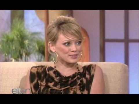 [HQ] Hilary Duff On Ellen - 7th sep 2005