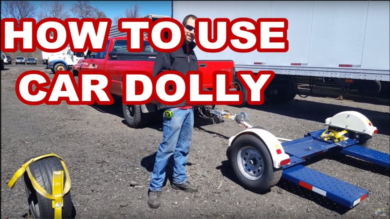 Hook up car tow dolly