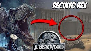 RECINTO DE REX DE JURASSIC WORLD! TYRANNOSAURUS REX! JURASSIC WORLD ARK PARK!!