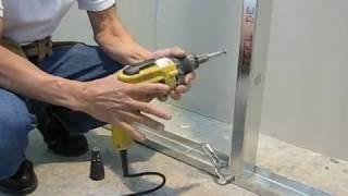 Instalación Stud para sistemas Drywall con gypsum Gyplac.