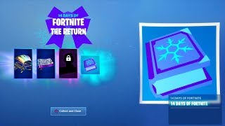 14 DAYS OF FORTNITE OFFICIALLY RETURNS! (Free Rewards in Fortnite Battle Royale)