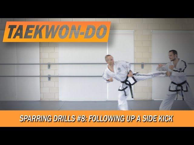 Sparring Drills #8: Following up a Side Kick.