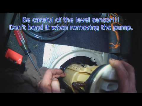 VW A4: Golf / Jetta fuel pump removal