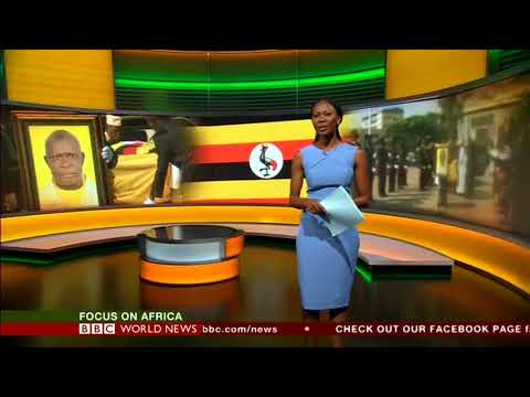 Focus on Africa with Nancy Kacungira on BBC World News, 19th June 2018