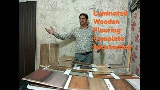 Laminated wooden flooring usage and information
