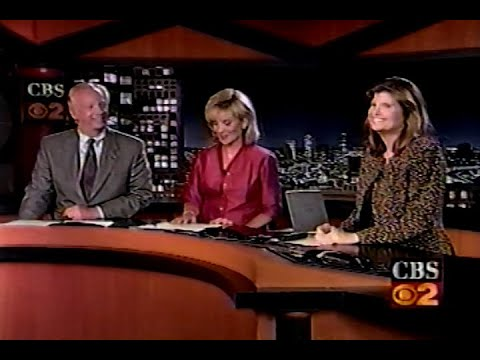 KCBS TV CBS 2 News at 11 Los Angeles June 27, 2000
