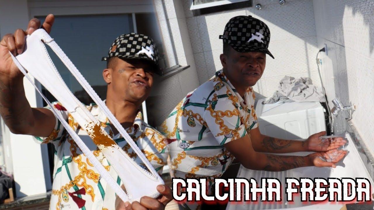 ACHEI UMA CALCINHA FREADA NA MANSÃO MAROMBA