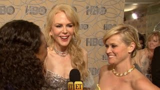 EXCLUSIVE: Behind the Scenes With Nicole Kidman Sarah Paulson and More at Golden Globes Parties