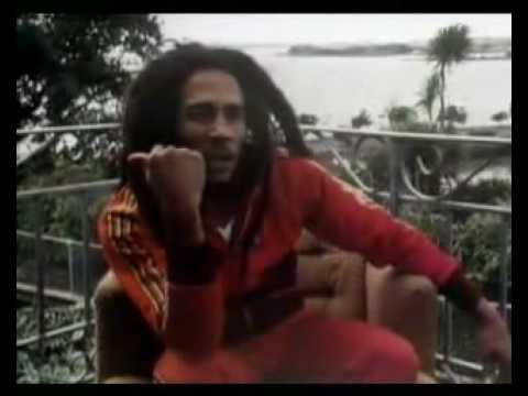 Bob Marley talks about the ganja