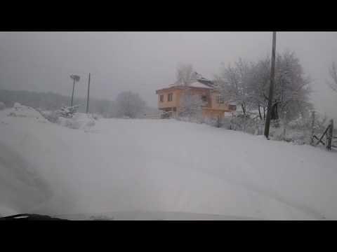 Şıhlı Köyü'nden Boyabat'a Kar Altında Yolculuk, 1. Bölüm.   21 Aralık 2016